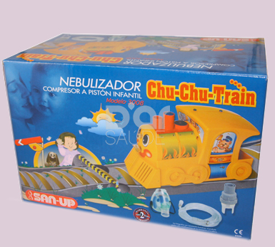 San Up Chu-Chu-Train Nebulizador Compressor